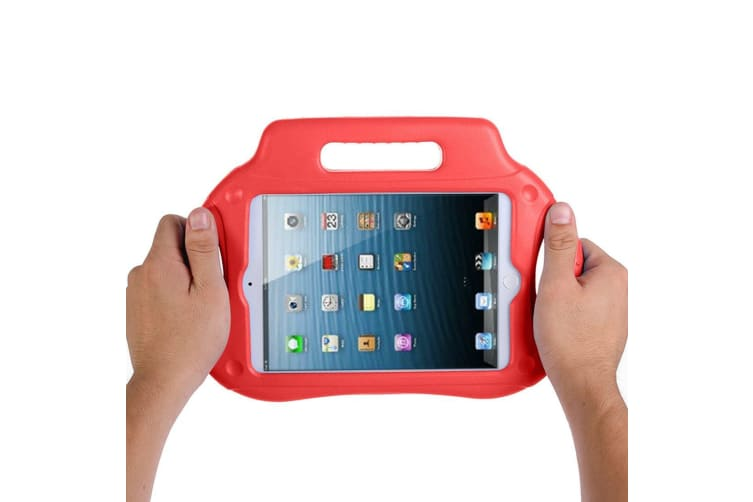 For iPad Mini 1 2 3 Case Drop-resistant Handheld Kid Friendly Foam Cover Red