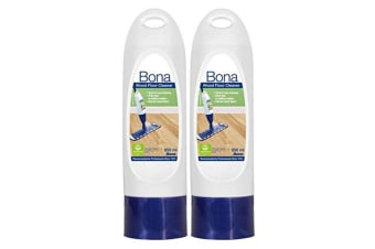 2PK Bona 850ml Wood Floor Cleaner Refill Cartridge for Spray Mop Wooden Timber