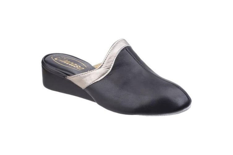 Cincasa Menorca Signature Ladies Slipper / Womens Slippers (Black) (41 EUR)