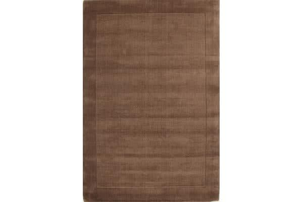 Cut and Loop Pile Rug Taupe 280x190cm