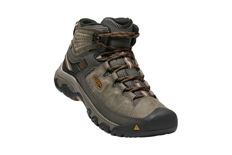 Keen Targhee III Mid Waterproof Mens - Black Olive Golden Brown - 12