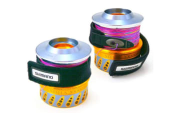Medium Shimano Spool Belt- Spinning Fishing Reel Line Holder - Fishing Spool Band