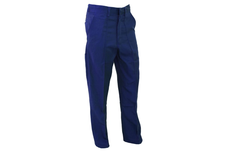Dickies Redhawk Trousers (Tall) / Mens Workwear (Royal) (44W x Long)