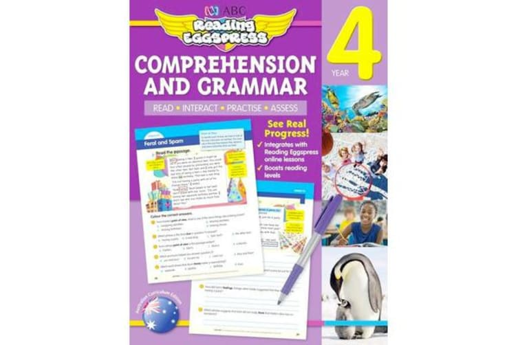 ABC Reading Eggspress Comprehension and Grammar Year 4