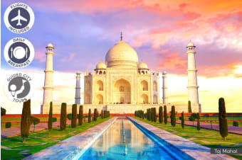 INDIA: 16 Day Classic India Tour Including Flights for Two