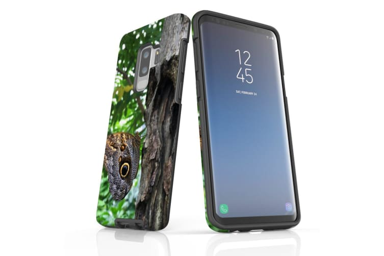 For Samsung Galaxy S9+ Plus Case Armour Cover  Butterfly On a Tree