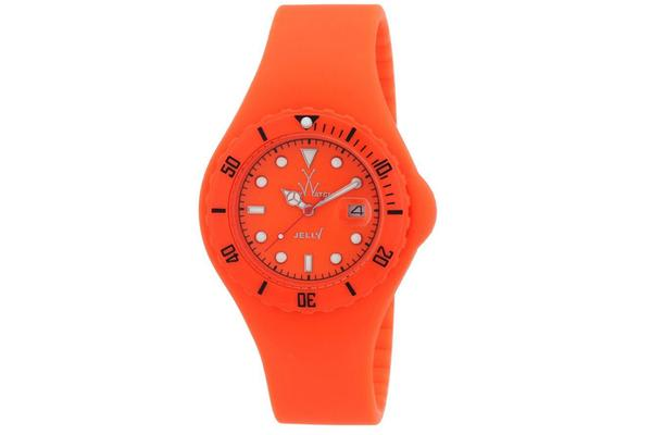 Toy Watch Orange Dial Rubber Strap Unisex Watch JY03OR (JY03OR)