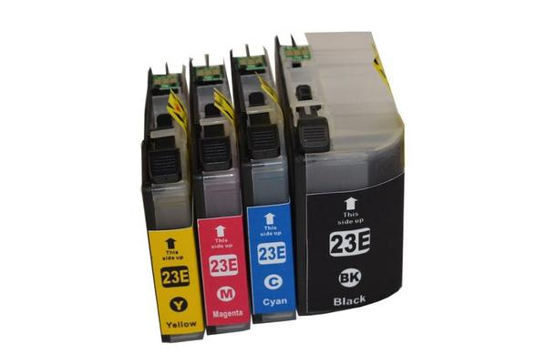 LC-23E Premium Inkjet Cartridge Set (4 Cartridges)