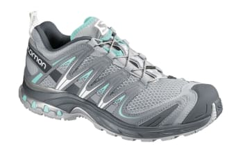 Salomon Women's XA Pro 3D (Onyx, Onyx, Igloo Blue, Size 7)