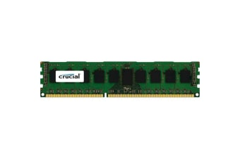 Crucial 4GB DESKTOP DDR3L 1600Mhz DIMM 240pin Non ECC PC3L-12800 512M X 8 Desktop RAM  Single Ranked
