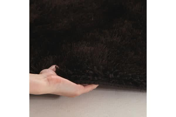Twilight Shag Rug - Chocolate  225x155cm