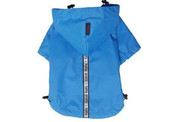 Puppia Base Jumper Raincoat Sky Blue - M