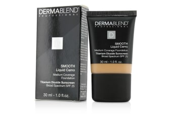Dermablend Smooth Liquid Camo Foundation SPF 25 (Medium Coverage) - Honey Beige (50C) 30ml