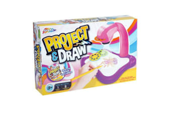 Grafix Project & Draw Art Projector Set - Pink