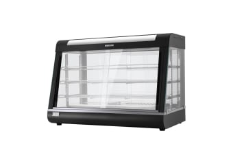 Commercial Food Warmer Electric Hot Display Pie Showcase Stainless Steel