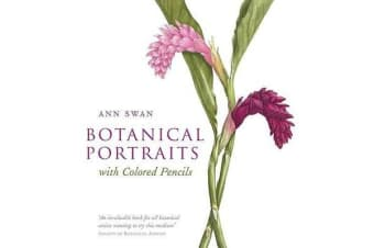 Botanical Portraits with Colored Pencils