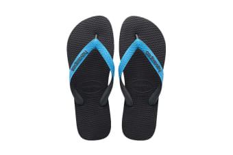 Havaianas Top Mix Thongs (Grey/Turquoise)