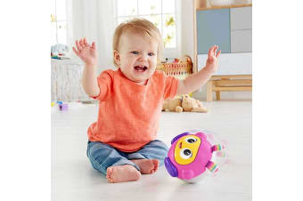 Fisher Price Beats Spin and Crawl Tumble Ball Beatbelle