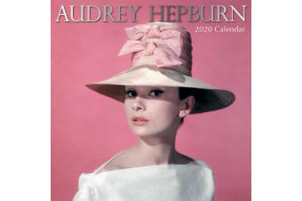Audrey Hepburn - 2020 Premium Square Icons Wall Calendar 16 Months New Year Home