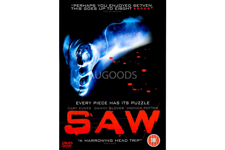 SAW - Region 2 Rare- Aus Stock DVD Preowned: Excellent Condition