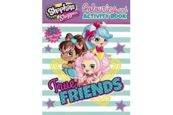Shopkins Shoppies - Colouring and Activity Book