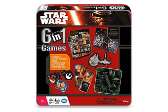Star Wars 6-in-1 Game Tin