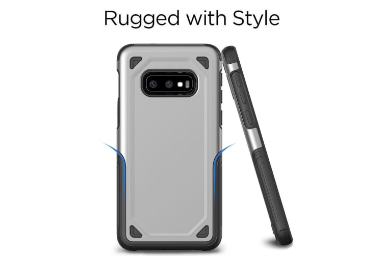 For Samsung Galaxy S10e Case  Army Green Shockproof Armour Hard Back Phone Cover