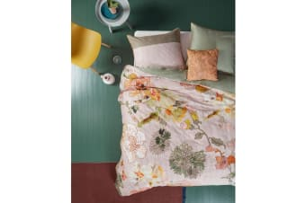 Knitted Rose Multi Cotton Sateen Quilt Cover Set by Oilily
