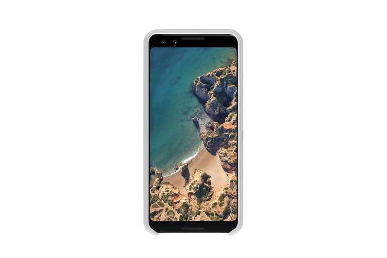Google Pixel 3 Silicone Case - Clearly White