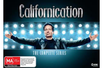 Californication The Complete Collection DVD Region 4