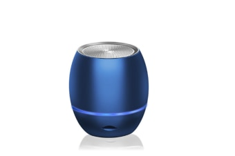 Select Mall Portable Mini Support Memory Card Bluetooth Wireless Speaker Mini Smart Audio Subwoofer-Blue