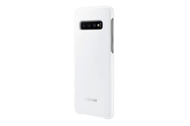 Samsung Galaxy S10 LED Back Cover - White