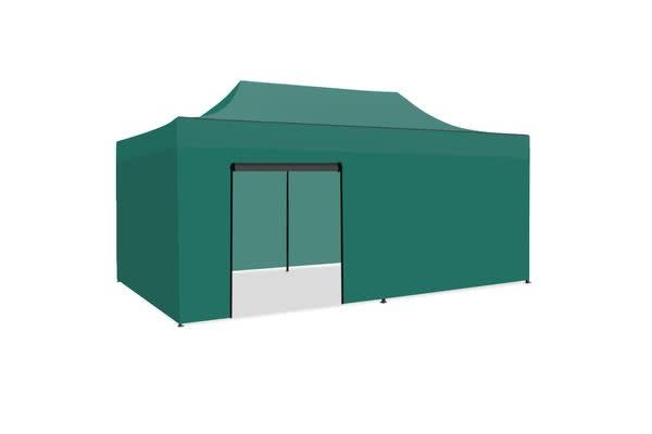 3x6m Gazebo Outdoor PopUp Tent Folding Marquee GREEN