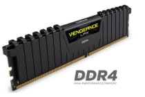 Corsair Vengeance LPX 8GB (1x8GB) DDR4 2666MHz C16 Desktop Gaming Memory Black