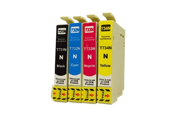73N Series Pigment Compatible Inkjet Cartridge Set