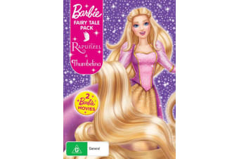 Barbie Fairy Tale Thumbelina / Barbie As Rapunzel DVD Region 4