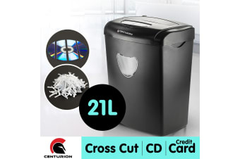 Centurion 21L 10 Sheets Paper Shredder