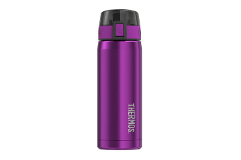 Thermos 530ml Stainless Steel Vacuum Insulated Hydration Bottle - Purple