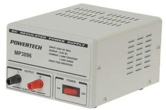 DC Lab 13.8 Volt 5 Amp Power Supply Capacities 5 amp 10 amp 20 amp and 30 amp