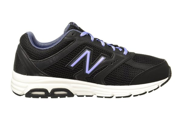 New Balance Women's 460 - D Running Shoe (Black/Violet, Size 10)