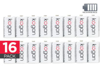 16 Pack Kogan Rechargeable D Batteries (Ultra High Capacity)