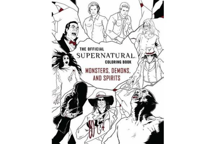 The Official Supernatural Coloring Book - Monsters, Demons, and Spirits
