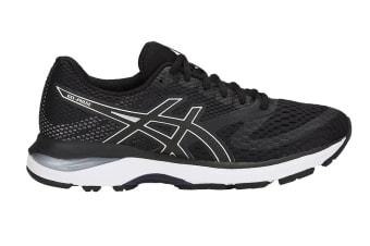 ASICS Women's GEL-Pulse 10 Running Shoe (Black/Silver, Size 8)