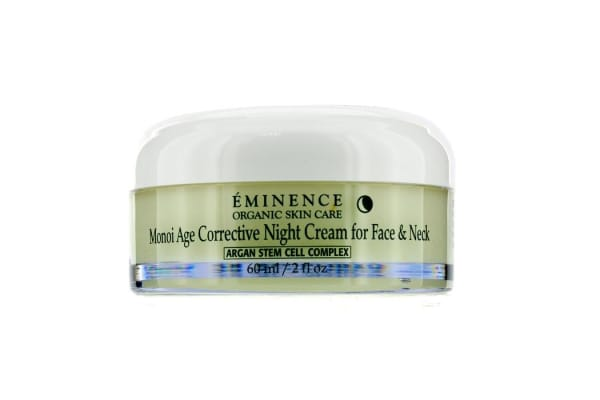Eminence Monoi Age Corrective Night Cream for Face & Neck (Normal to Dry Skin, Especially Mature) (60ml/2oz)