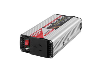 600W/1200W Pure Sine Wave Power Inverter 12V-240V Camping Boat Caravan