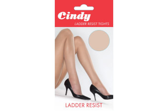 Cindy Womens/Ladies Ladder Resist Tights (1 Pair) (Rose Dust)