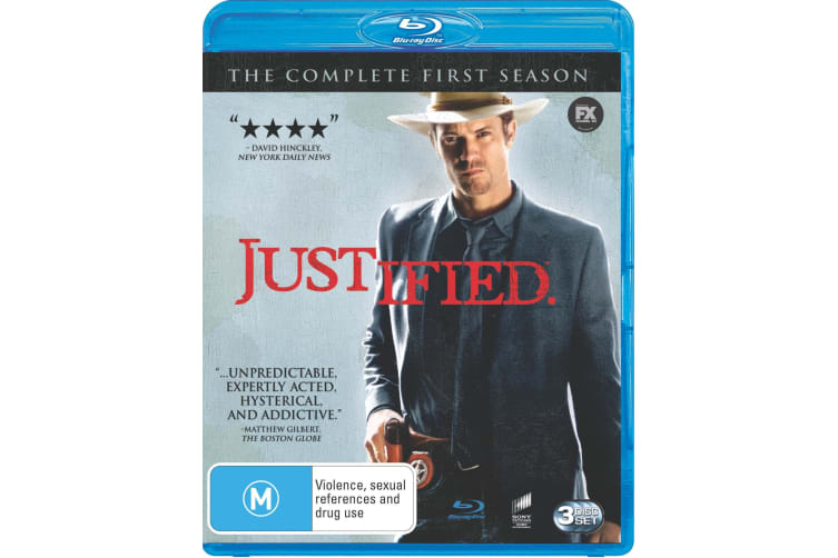 Justified The Complete First Season 1 Blu-ray Region B