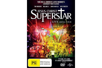 Jesus Christ Superstar Live Arena Tour 2012 DVD Region 4