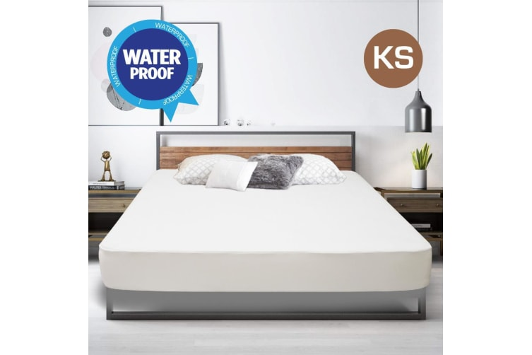 King Single Size Fully Fitted Non Woven Waterproof Mattress Protector