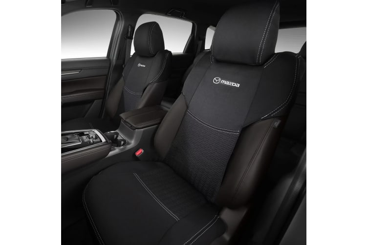 New Genuine Mazda CX-8 KG CX-9 TC Front Seat Cover Set of 2 Neoprene KG11ACSCF